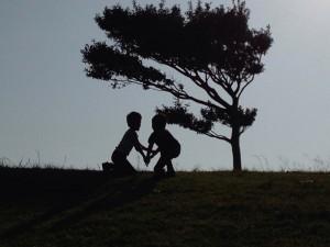 No.052 「夕暮れの丘・・・」