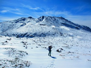 No.029 「雪の御岳山」