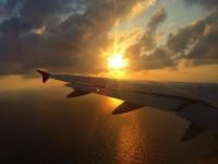 No.66 太陽と飛行機