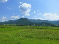 no56 きりかぶ山と夏の風景