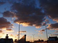 NO.102「都市高速からの夕焼け」