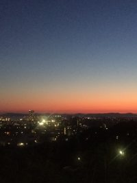 NO.067「福岡市の夕暮れ」