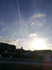 NO.009「冬空の雲影」