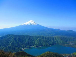 No.014 「西湖と富士山」