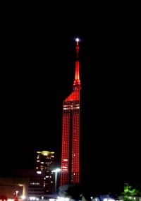 No.87 赤く染まるタワー