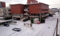 No57 今朝の多の津は雪化粧