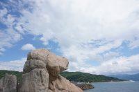 no61 糸島の犬岩