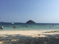 NO.079「水平線と島」