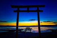 No.018 有明海の夜明け 青い時間