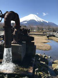 No.083 富士山の湧き水放水