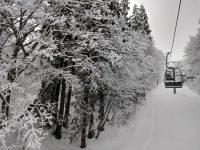 No.093 静寂のスキー場リフト