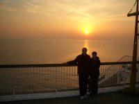 No.060 海ほたるの夕陽