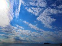 No.124 江ノ島上空の美しい雲