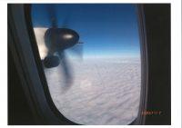 No.034 機内からの雲の海
