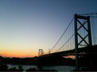 No.060 夕暮れ橋